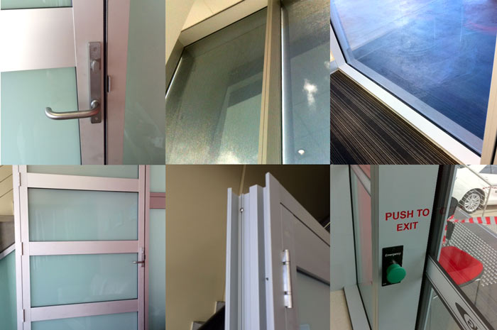 A range of Commercial Windows and Doors
